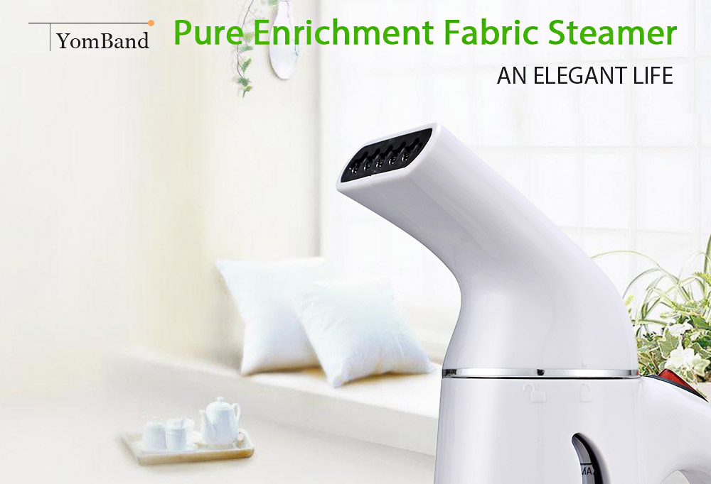 YomBand H - 108 Portable Garment Pure Enrichment Fabric Steamer