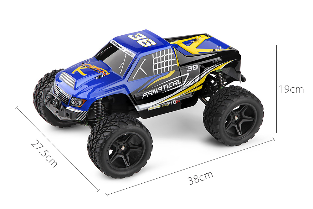 WLTOYS A323 1:12 Scale 4CH 2.4G 2WD 30km/h Remote Control Competition Car RTR