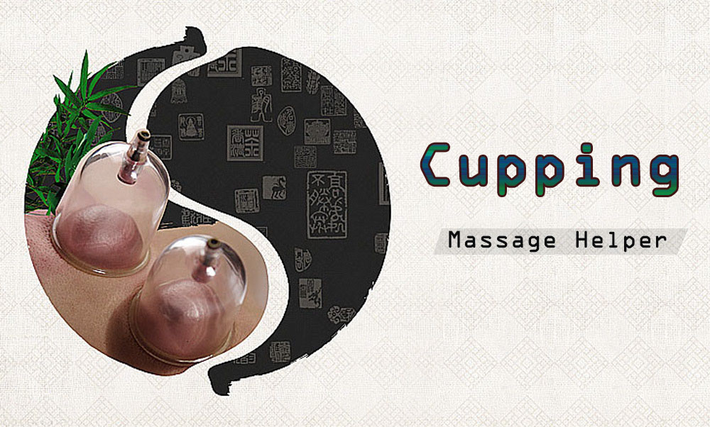 CHANGKUN 12pcs Anti Cellulite Plastic Explosion-proof Vacuum Cupping Kits Cups Chinese Health Care Therapy Massage Helper