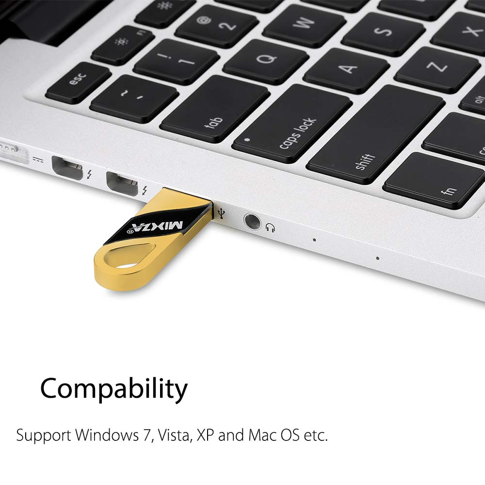MIXZA TOHAOLL CMD - U2 Ultra Thin Metal USB 3.0 Flash Drive