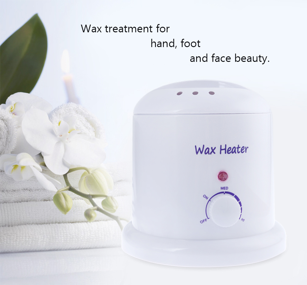 1000ML Electric Round Cartridge Depilatory Waxing Heater Paper Hair Removal Hand Foot Face Beauty Treatment