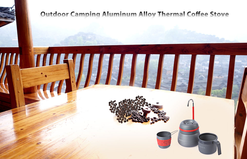 ALOCS CW - EM01 Outdoor Coffee Stove Strong Thermal Conductive Machine