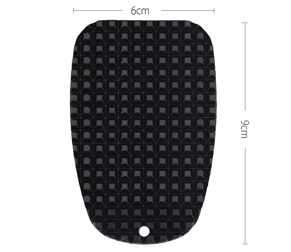 Universal Motorcycle Gear Kickstand Support Pad Plate Outdoor Parking