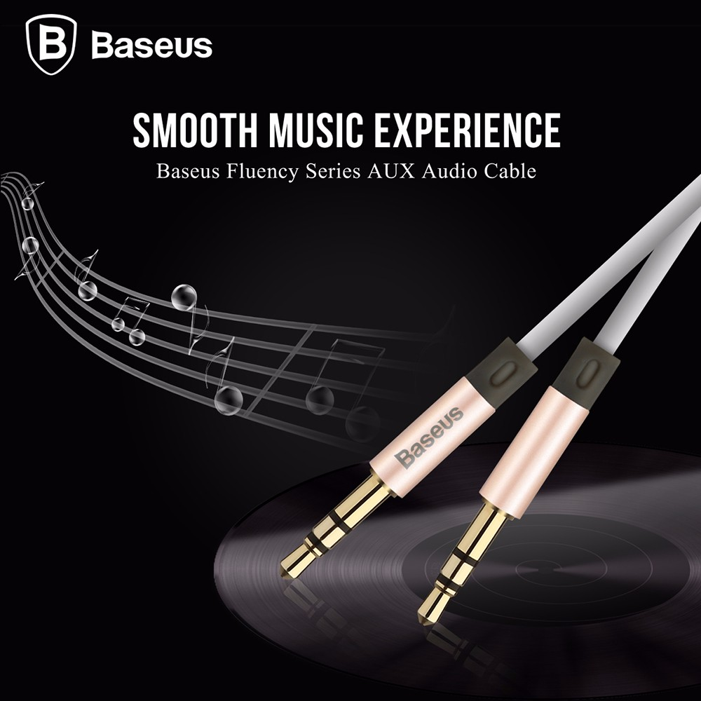 BASEUS Fluency Series 2M AUX Cable for 3.5MM Audio Interface Devices