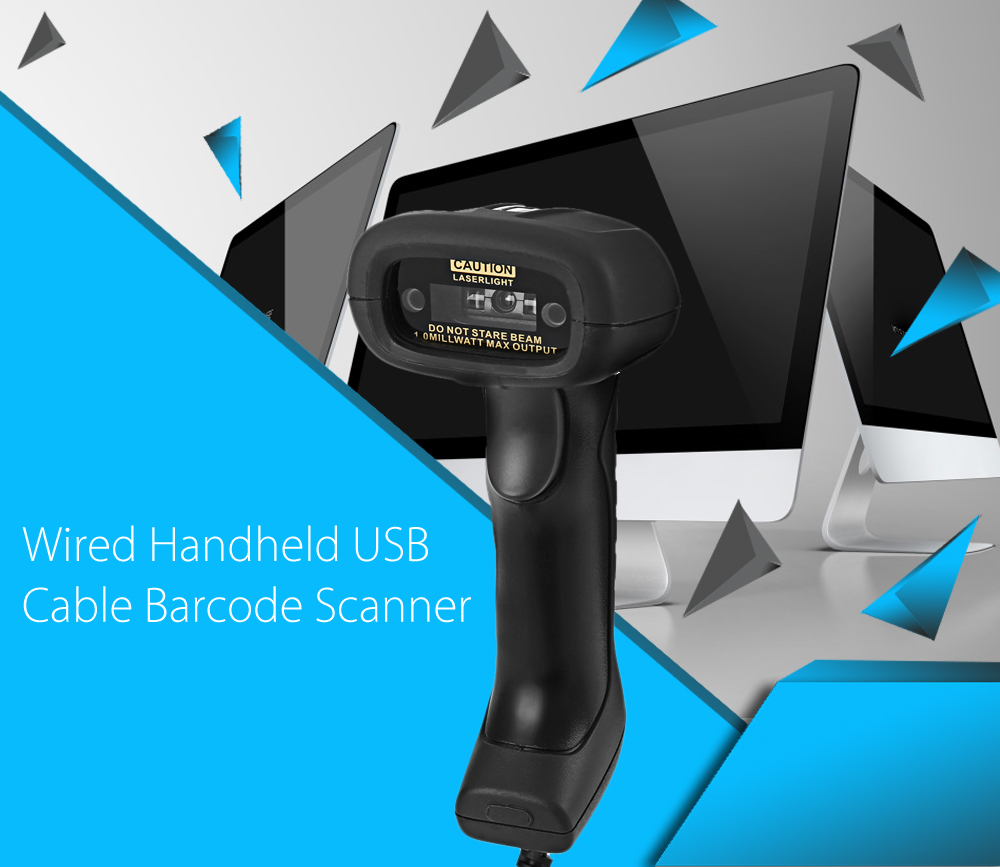 NETUM NT - 1200 Wired Handheld USB Interface 1D Barcode Scanner Reader