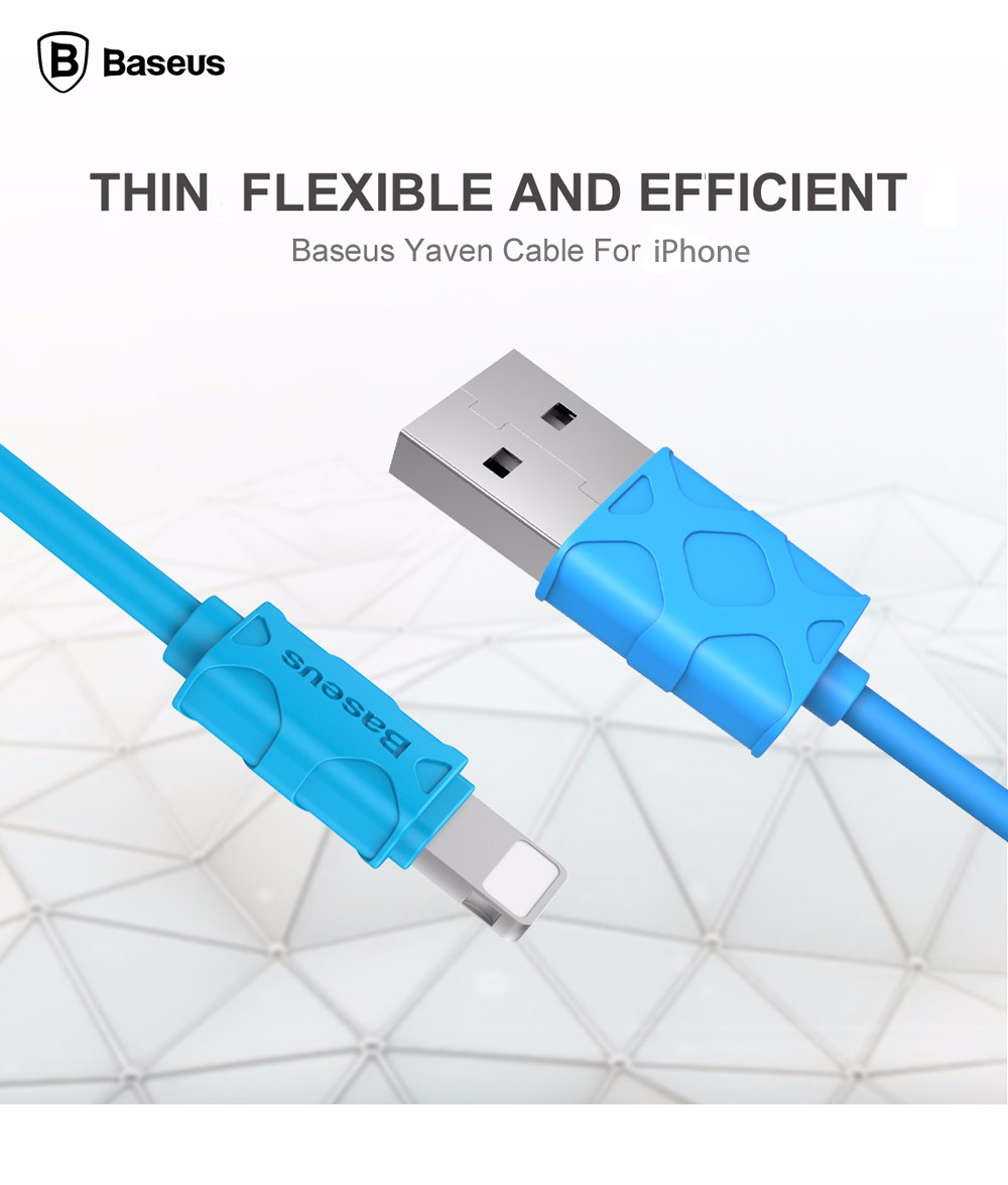 Baseus Yaven Series 1m Data Transfer and Charging Cable 8 Pin Connection