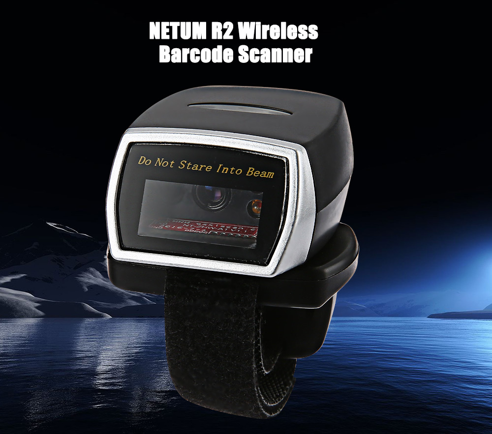 NETUM R2 Wireless Bluetooth 2D Scanner Code Rechargeable Scanister