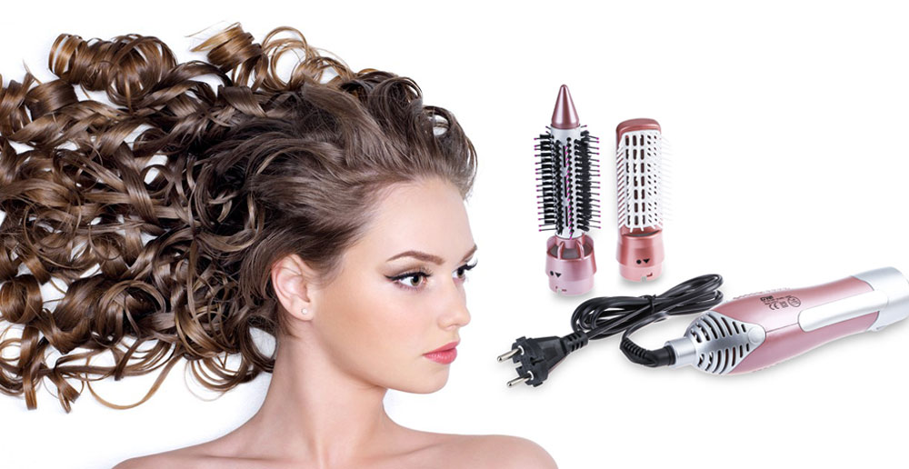 GUOWEI Hair Dryer Machine Comb 2 in 1 Multifunctional Styling Tools Set Hairdryer