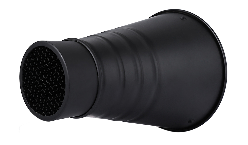 CY Conical Large Size Snoot with Honeycomb Grid 5pcs Color Filter