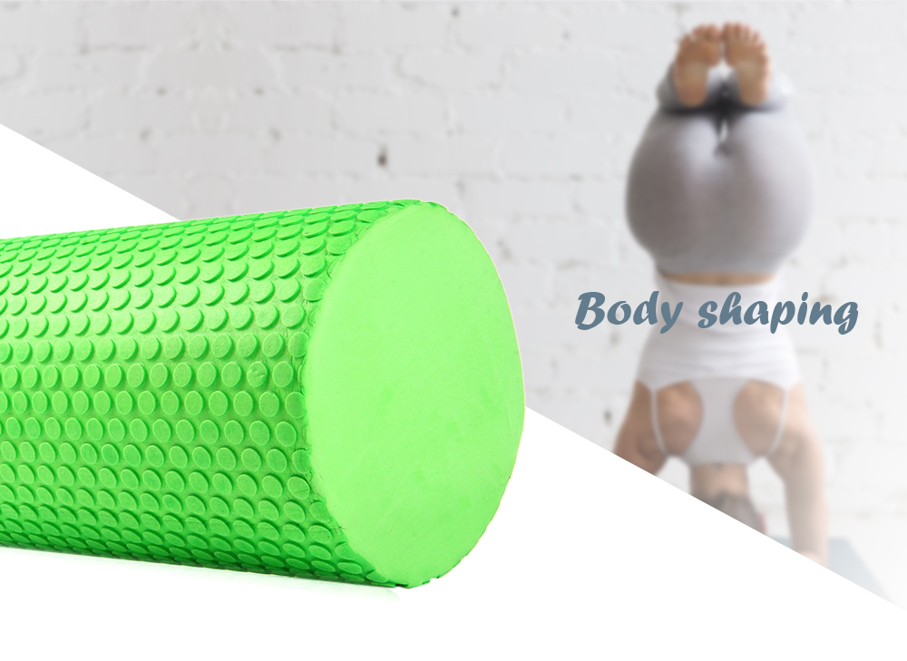 5.9 inches EVA Yoga Pilates Fitness Foam Roller Physio Blocks Exercise Massage Gym Cure Trigger Point