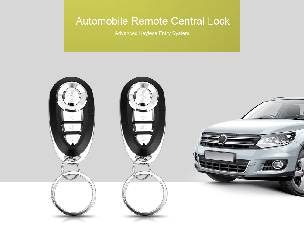 LB - 405 L201 Automobile Remote Central Lock Keyless Entry System Power Window Switch Car Alarm