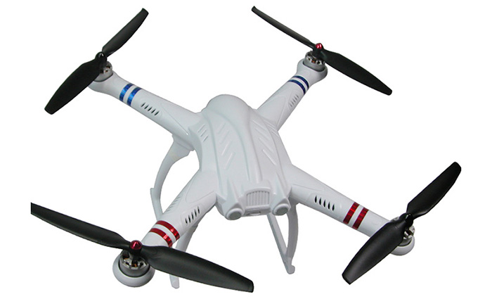 FreeX MCFX - 01 2.4G 7 Channel 6 Axis Gyro Quadcopter Flight Mode RTF