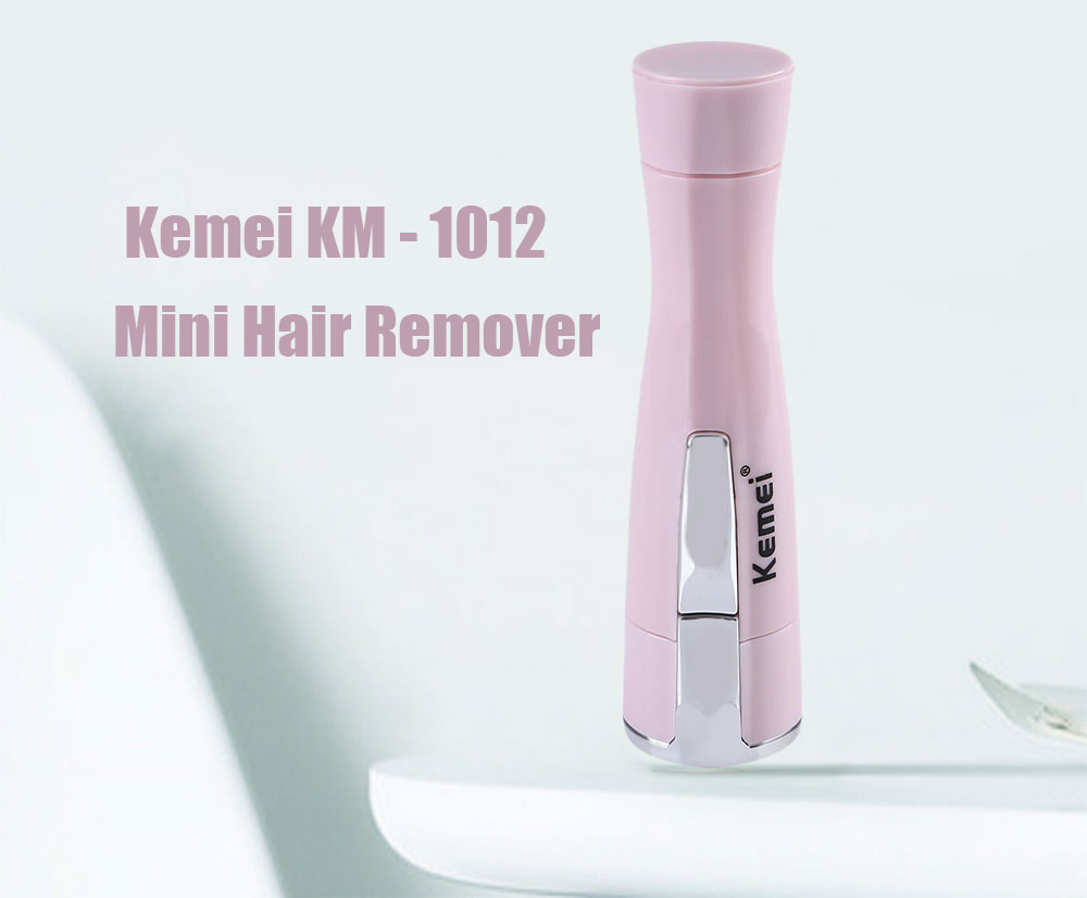 Kemei KM - 1012 Portable Mini Electric Shaver Hair Remover Epilator Travel Essentials for Women