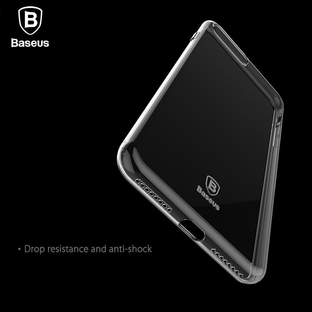 Baseus Simple Series Ultra Slim Electroplate Plating TPU Case for iPhone 7 Plus