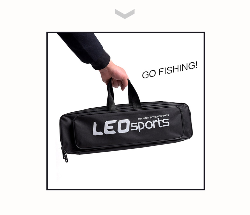 LEO 1.6M Telescopic Fishing Rod Kit with Fish Reel Lure Hook Tackle