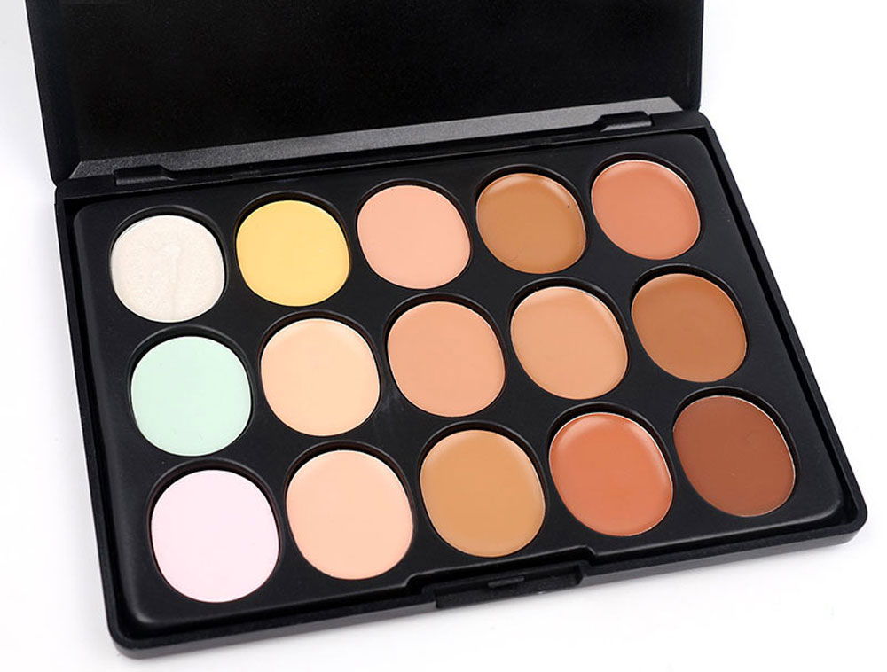M.n Menow C15004 Magic 15 Colors Makeup Concealer Palette