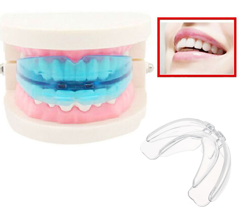 Utility Tooth Orthodontic Appliance Blue Silicone Oral Hygiene Dental Care Equipment for Teeth