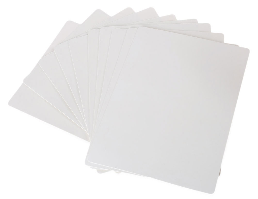 10pcs 20 x 15cm Blank Tattoo Practice Skins Fake Sheet Imitation Leather Double-side Supply