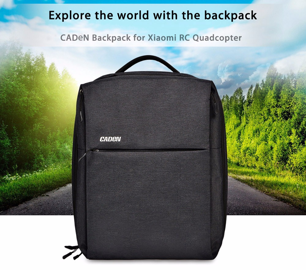 CADeN W8 Water Resistant Travel Backpack for Xiaomi RC Drone