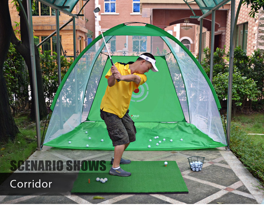 PGM 2M Garden Grassland Indoor Golf Training Cage Net
