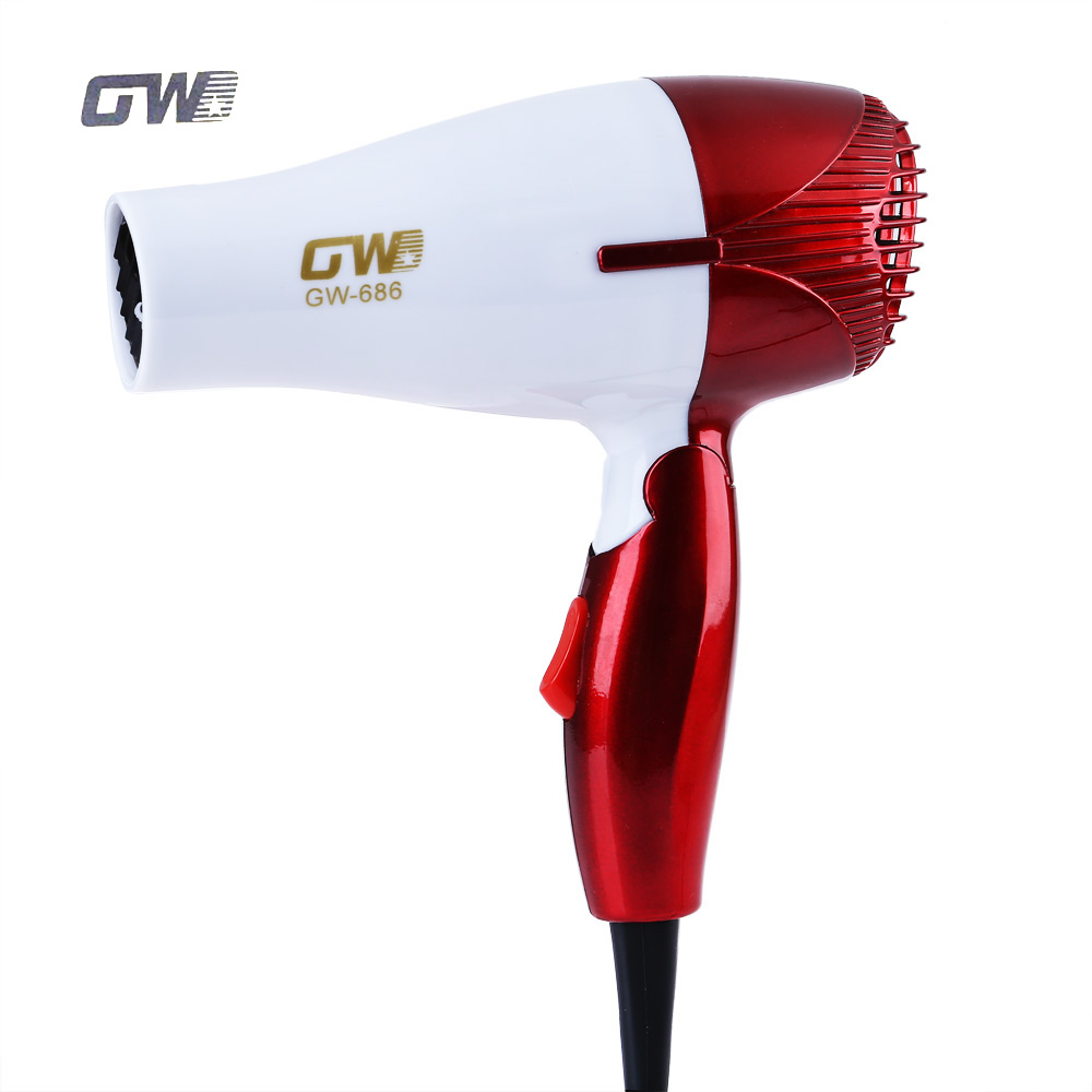 GUOWEI Mini Foldable Portable Traveller Compact Blower Hair Dryer