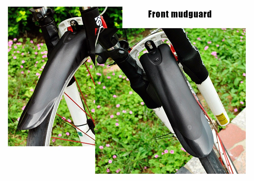 Mountain Bike Bicycle Mystery Dovetail Style Front Rear Mudguard Set Mud Guards