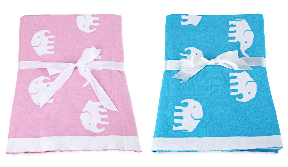 Practical Baby Cotton Blanket for Gift