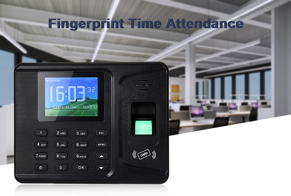 REALAND A - F261 Fingerprint Reader Time Attendance TCP Checking Recorder