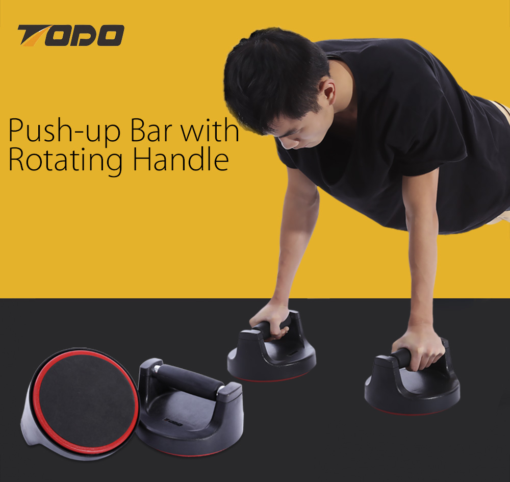 TODO Paired Push-up Bar Stand Rotation Fitness Equipment
