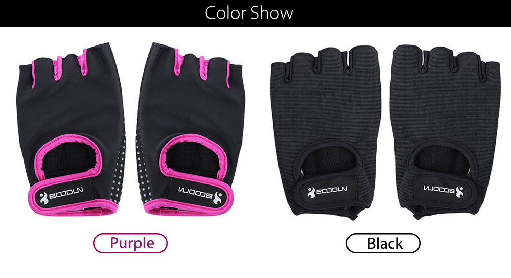 BOODUN Paired Unisex Fitness Sport Exercise Gym Training Glove
