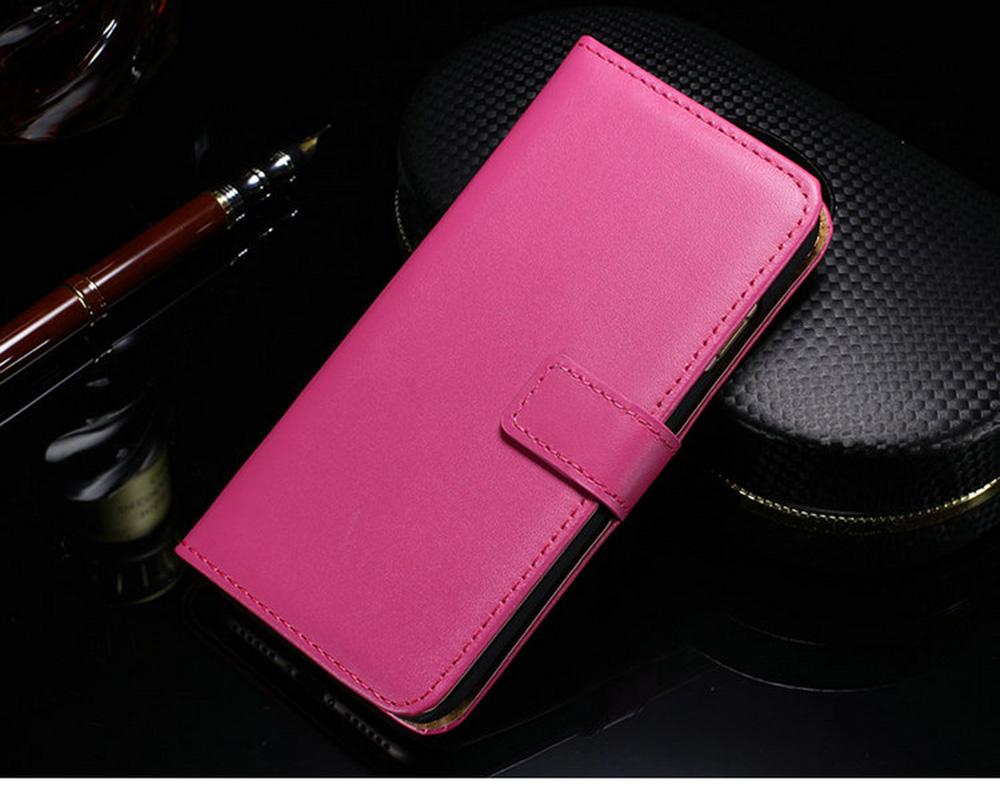 Leather Wallet Case Cover with Card Slot for iPhone 7 Plus 5.5 inch