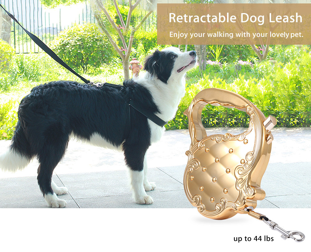3M Retractable Pet Dog Training Leash with Control Button