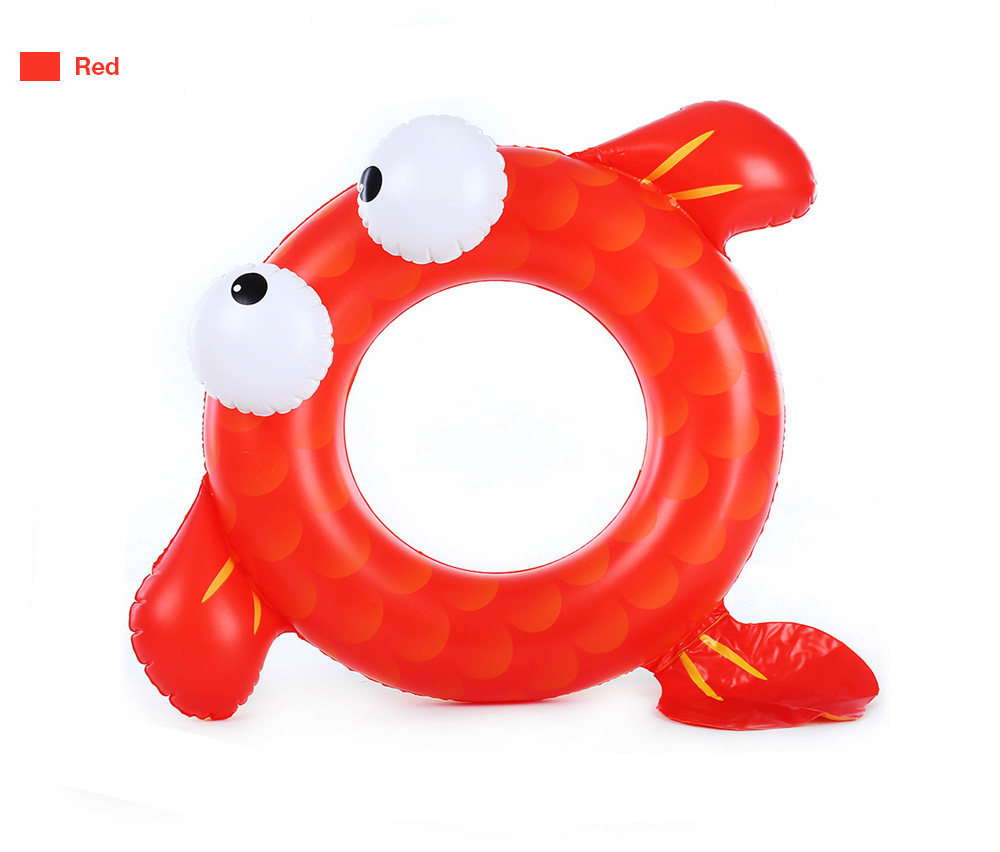 WINMAX Outdoor Swimming Goldfish Ring Inflatable Baby Pool Seat Float Boat