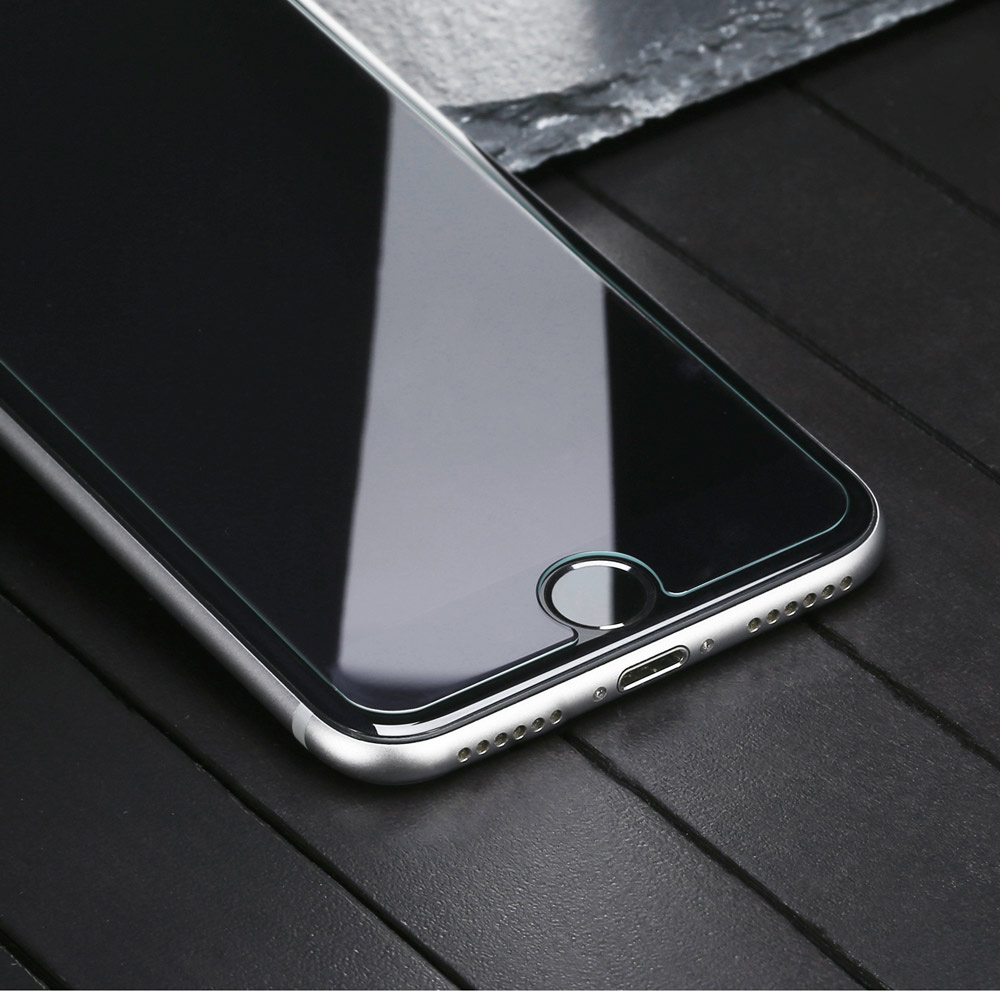 Baseus 9H 0.3mm Transparent Non Full Screen Light-thin Protective Tempered Glass Film for iPhone 7 Plus 5.5 inch