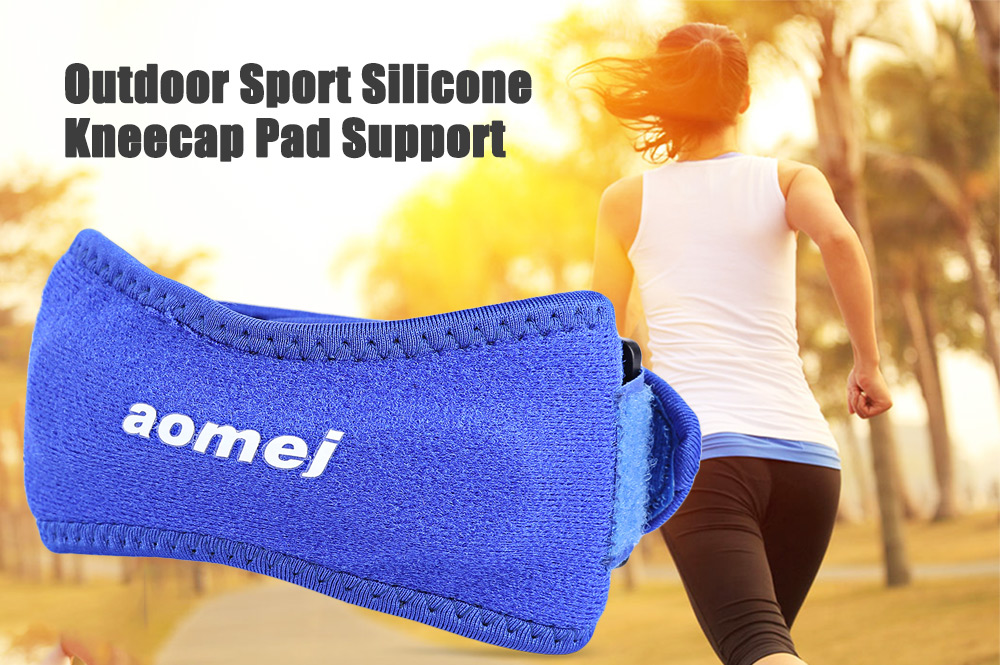 aomej Outdoor Sport Kneecap Pad Support Breathable Knee Protector