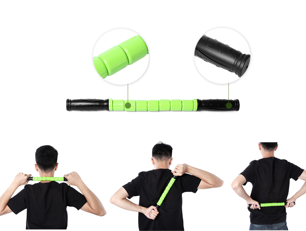 Body Muscle Massage Stick Yoga Exercise Pain Relief Equipment
