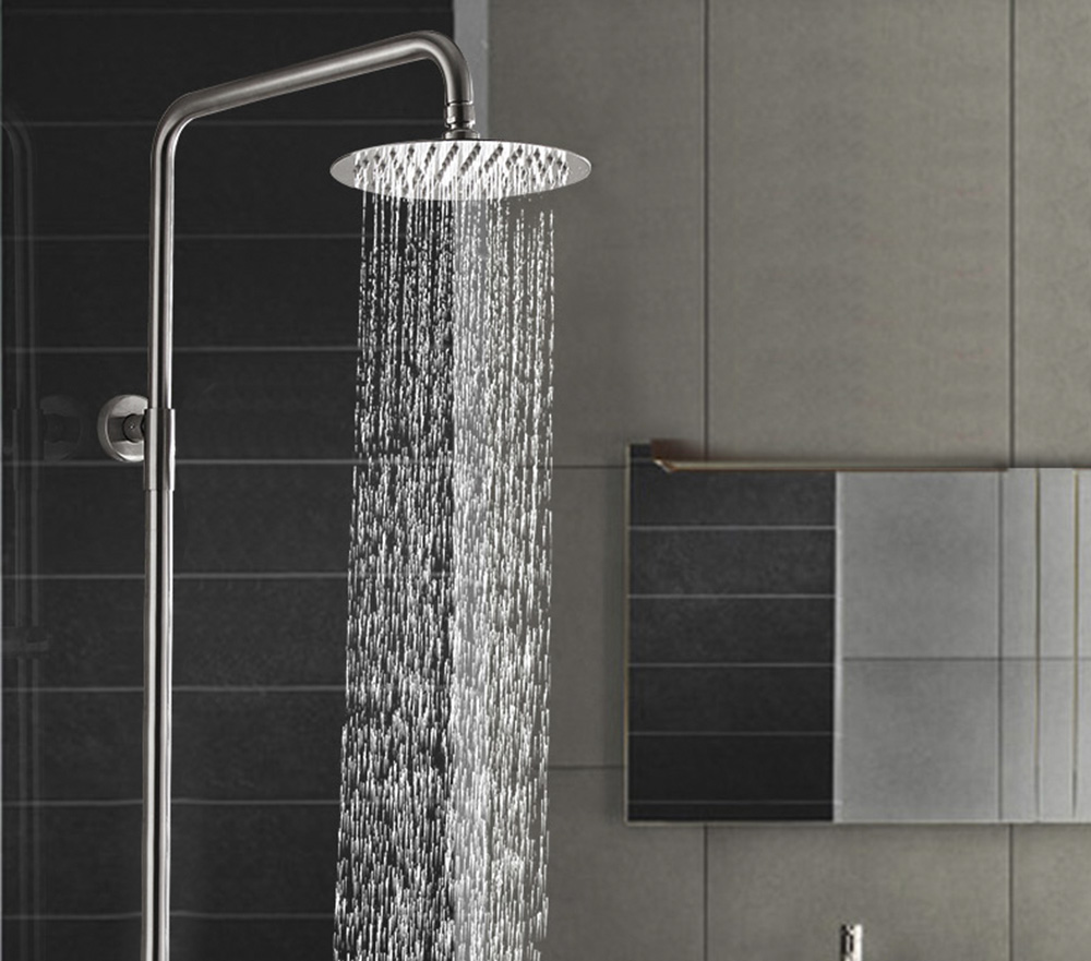 6 inch Stainless Steel High Pressure Ultra-thin Top Shower Head