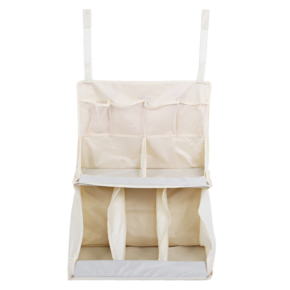 Infant Water Resistant Multifunctional Folding Wardrobe Wall Cot Stroller Diaper Nappy Toy Storage Case Baby Bed Hanging Bag