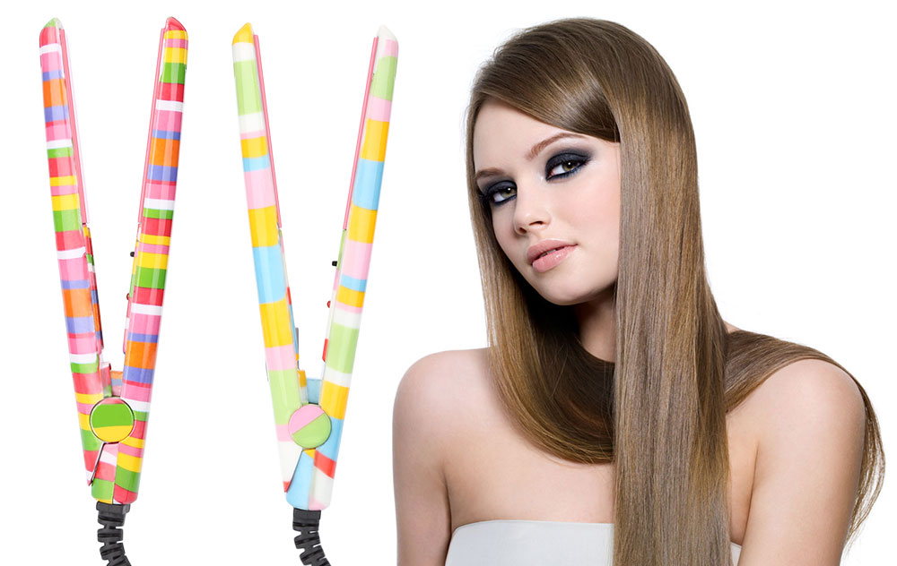 P56 Colorful Mini Hair Straightener