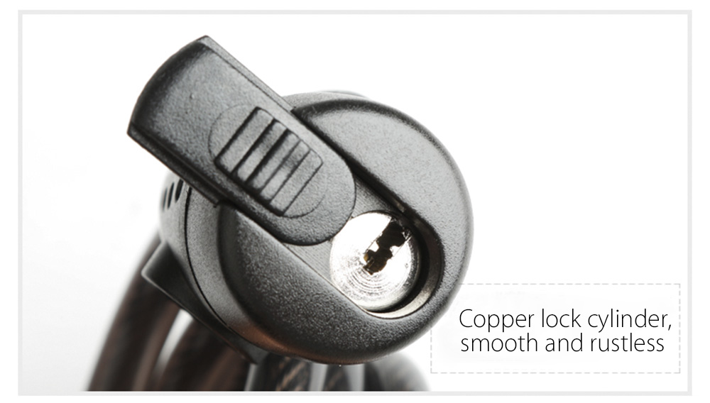 CoolChange 29006 Anti-theft Cycling Steel Wire Cable Lock Mountain Road Security Tool