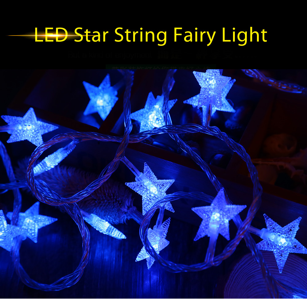 10M 100 LEDs 6W 8 Modes Star String Fairy Light Christmas Decoration Lamp