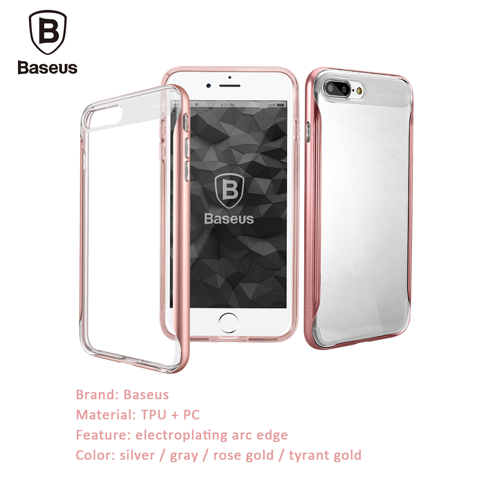 Baseus TPU + PC Double Case Cover for iPhone 7 Plus