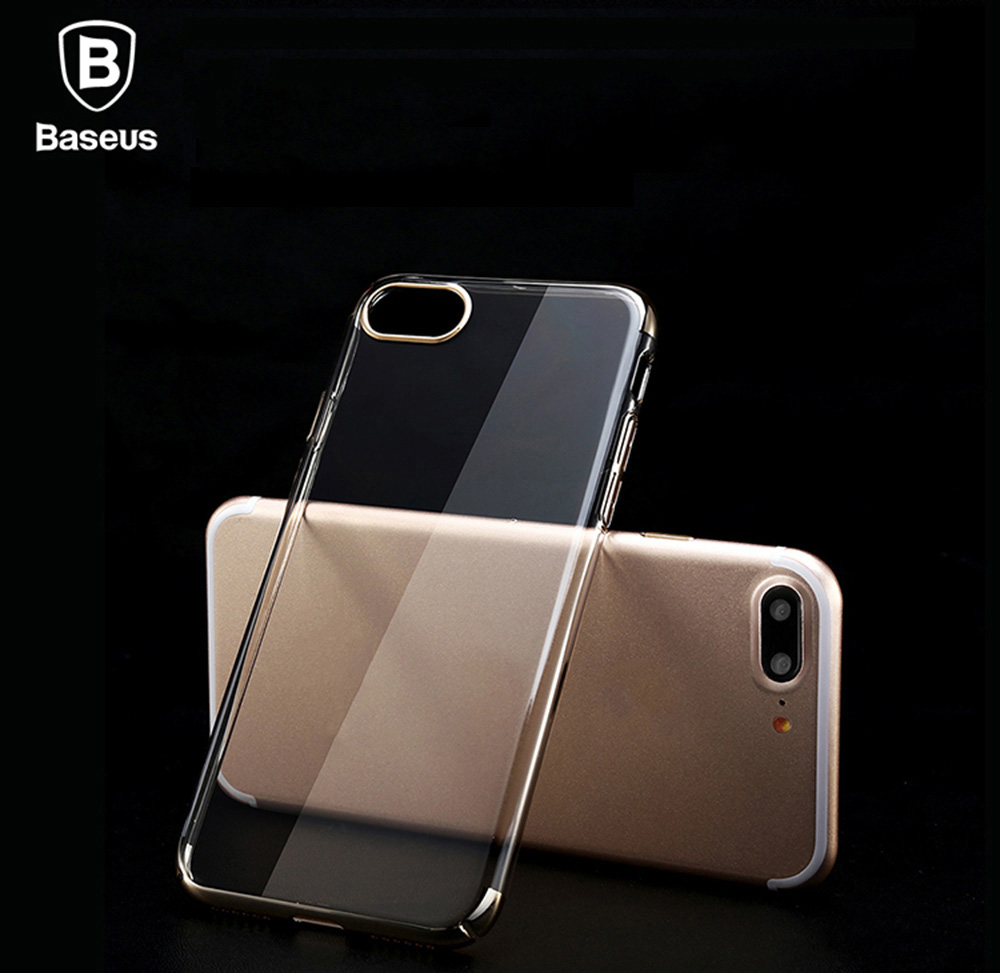 Baseus 5.5 inch Ultra Thin Transparent Soft Protective Mobile Phone Back Case Cover for iPhone 7 Plus
