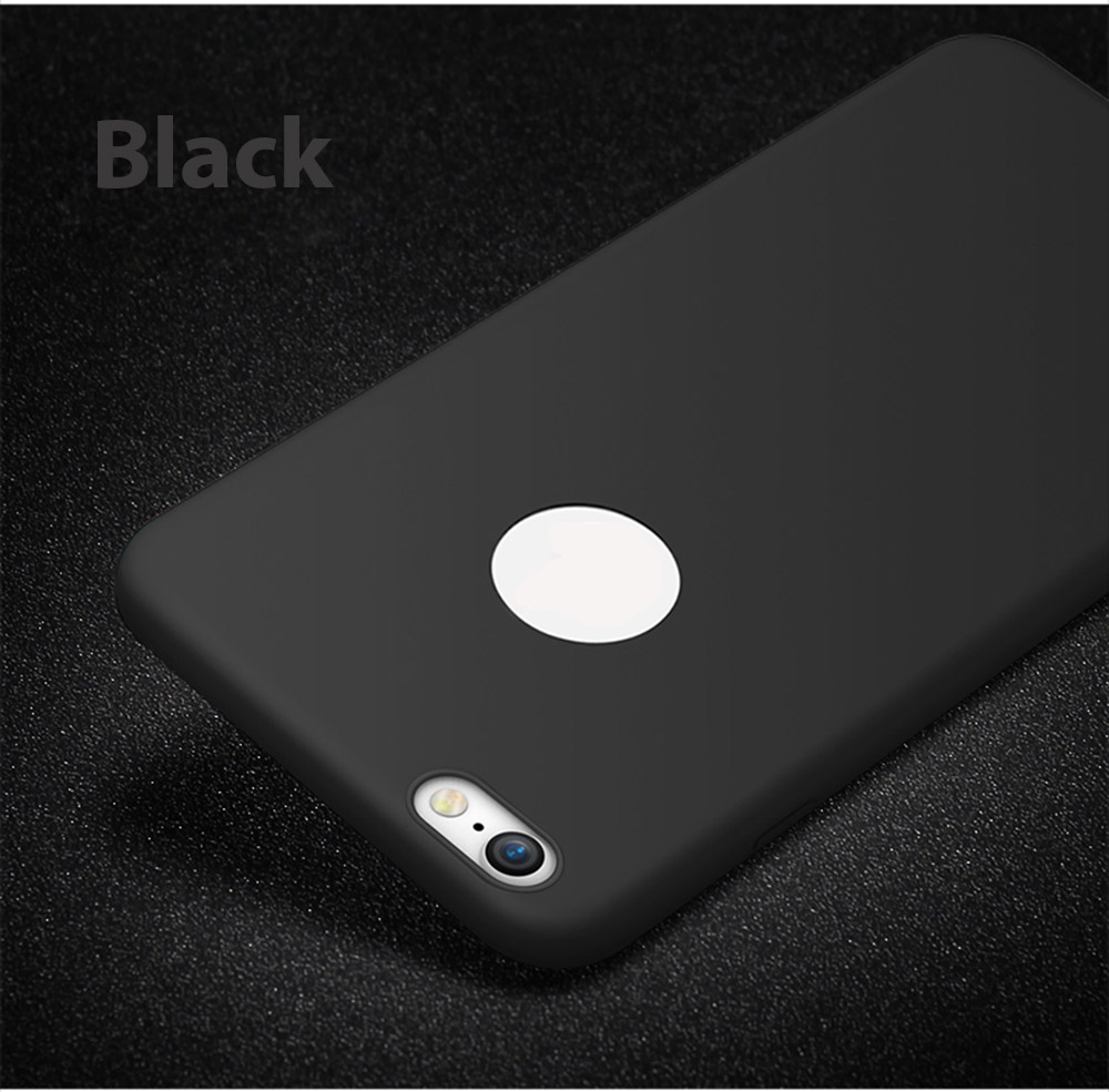 CAFELE Frosted Soft Touch Flexible Silicone Back Case for iPhone 7 4.7 inch