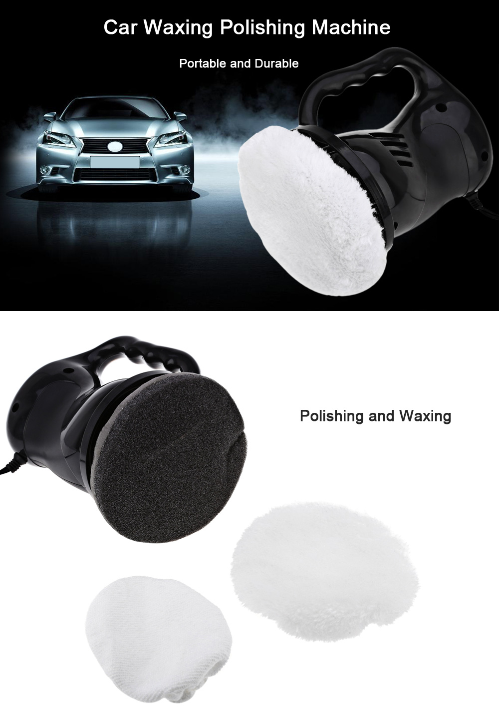 Car Waxing Polishing Machine Renovate Scratch
