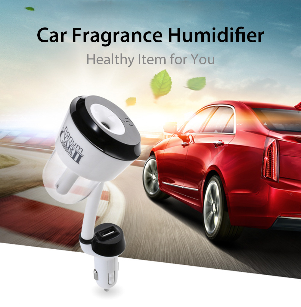 Car Fragrance Humidifier One USB Charging Port Health Care Supply