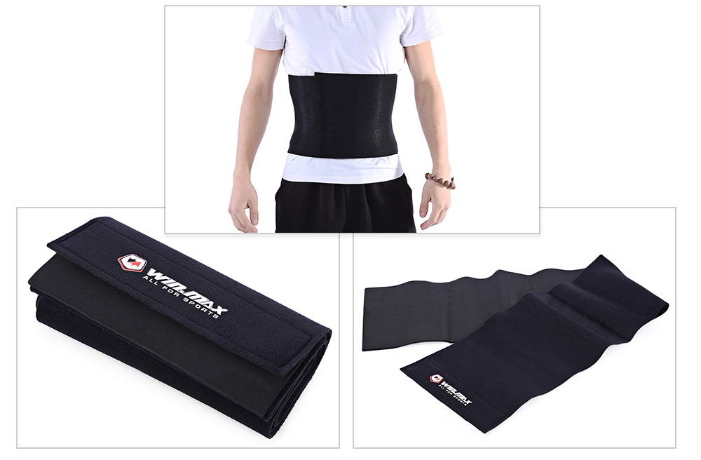 WINMAX Adjustable Slimming Waist Belt Fitness Body Lumbar Protector Trimmer Gym Bodybuilding Support