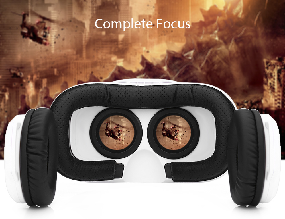 Hellopro VB2 3D VR Headset Movie Game Virtual Reality with Headphones