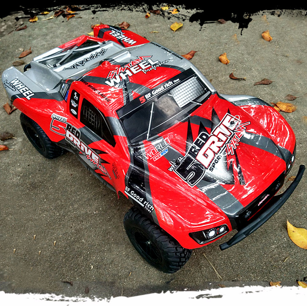 HUANQI 727 1:10 Scale 27Hz 4CH 4WD 35km/h Remote Control Off-road Electric Racing Car RTR