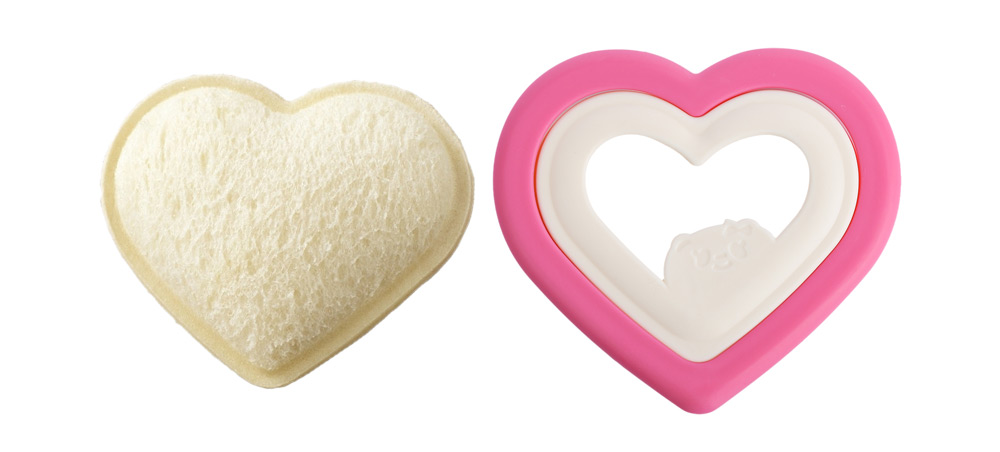 Heart Shaped Rice Ball Sandwich Food Maker Mold
